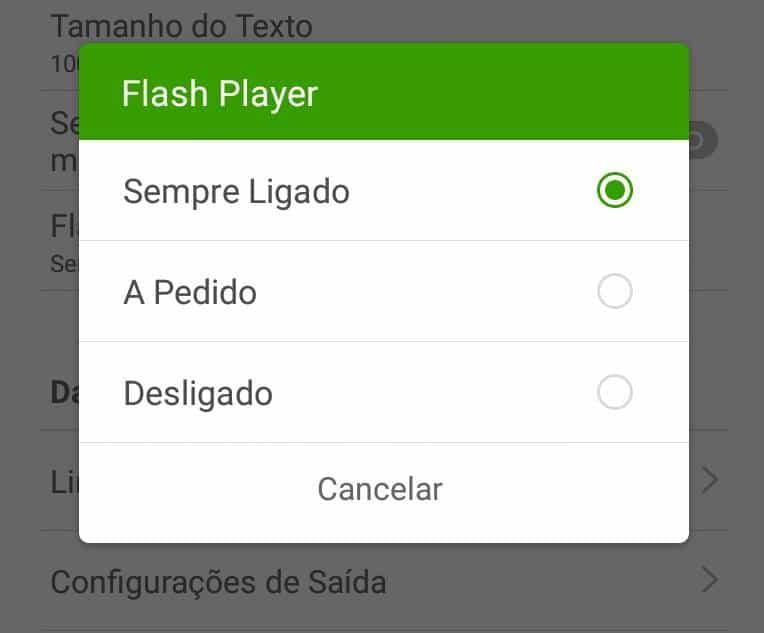 instalar o flash no Android