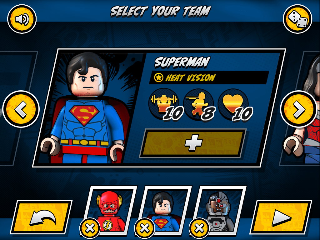 LEGO DC Super Heroes Team Up para iPhone