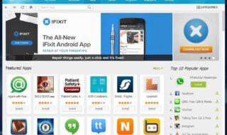 lojas de apps de android