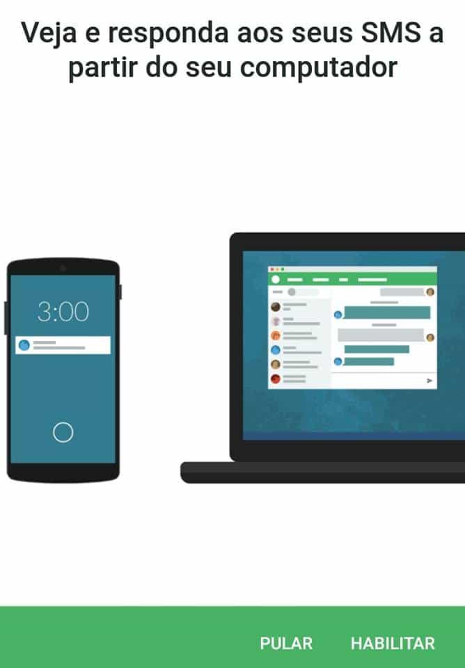 notificações do Android no PC