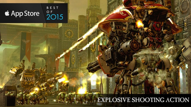 Warhammer 40,000: Freeblade para iPhone