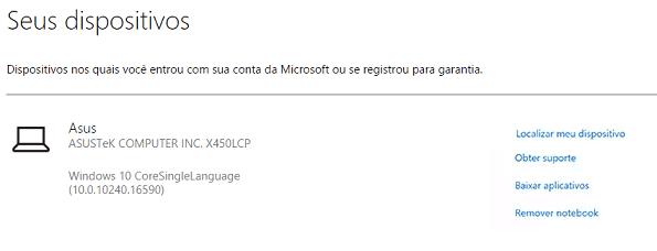 rastrear PC