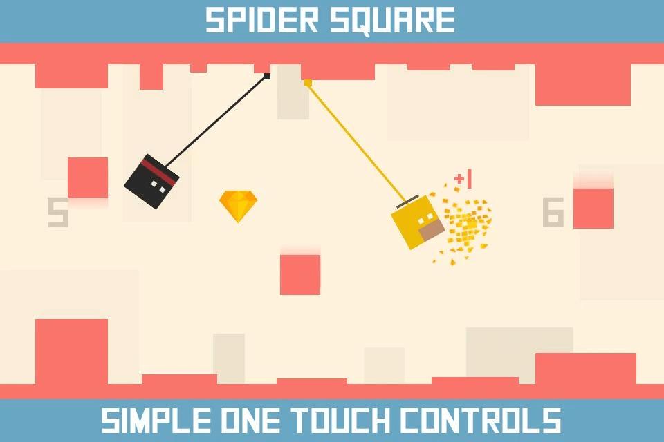 Spider Square para iPhone e iPad