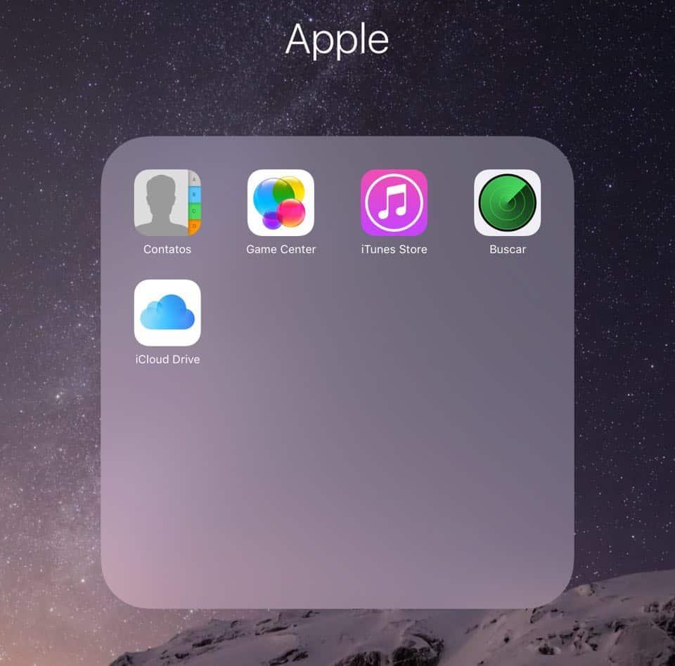 apps nativos do iphone
