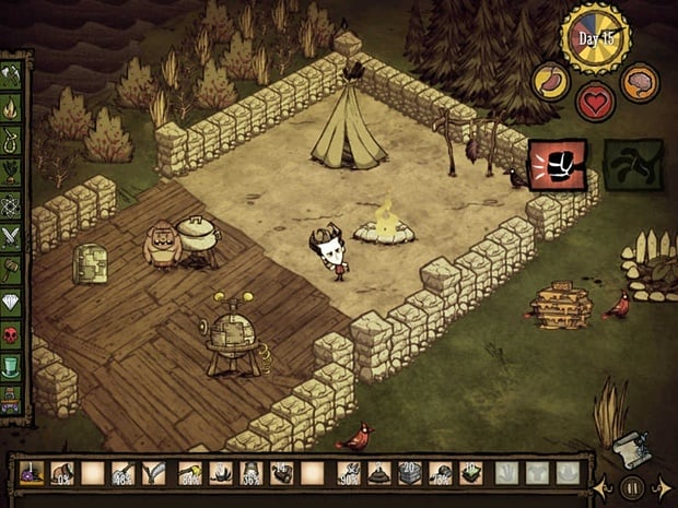Don't Starve: Pocket Edition para iPad