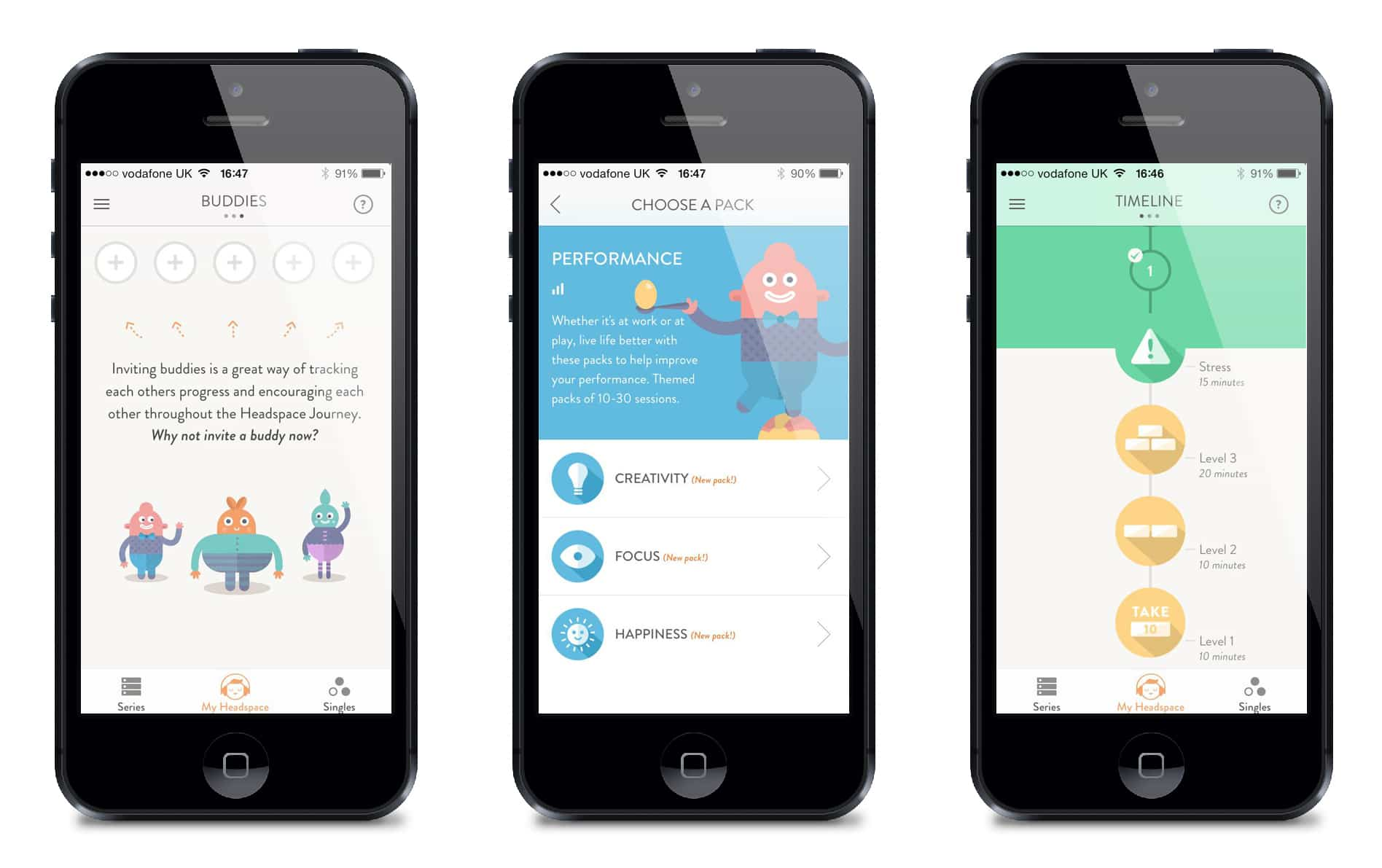 headspace iphone