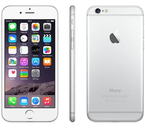 cor do iPhone iphone branco