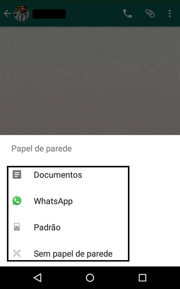 Whatsapp no Android
