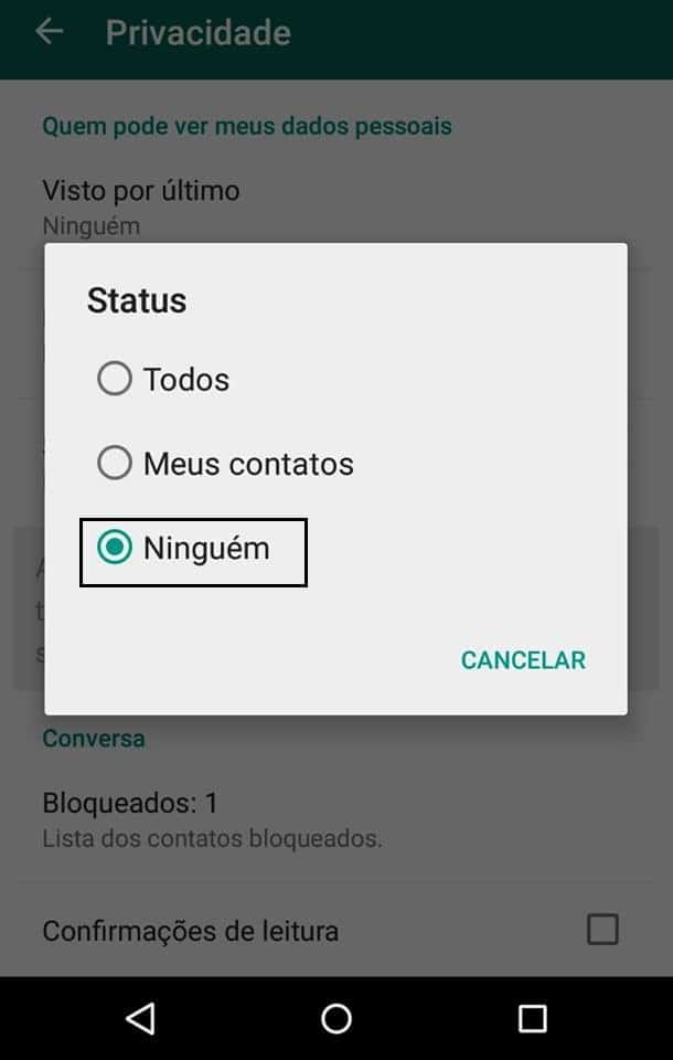 whatsapp no android