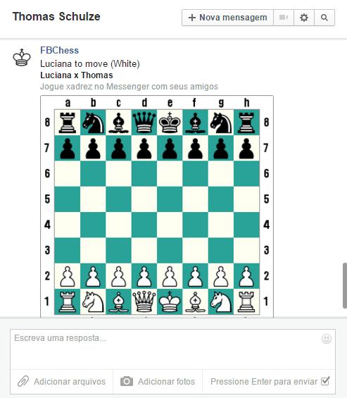 xadrez no facebook