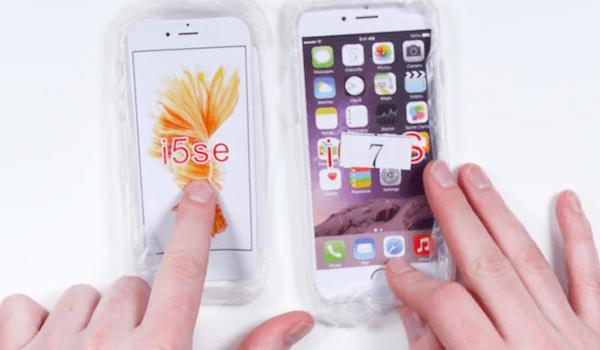 Capa do iPhone 7 e iPhone SE