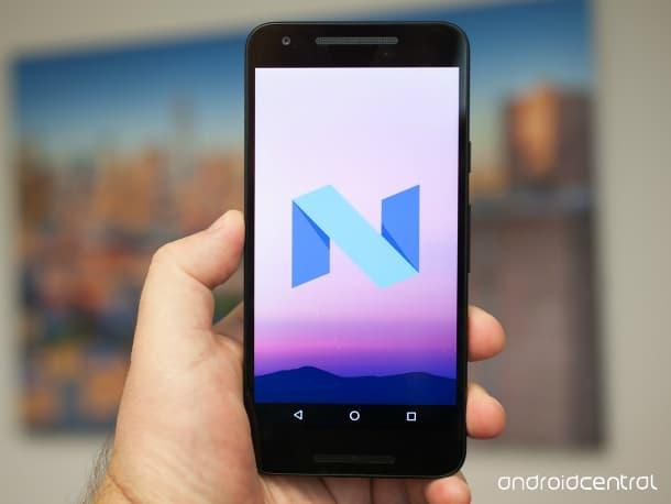 Funções do Android N