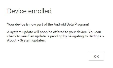 atualizar o Android