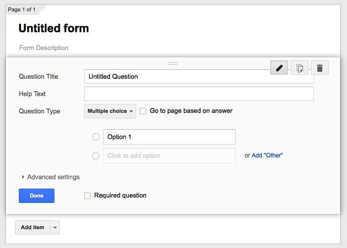 Google Forms best form builder tools