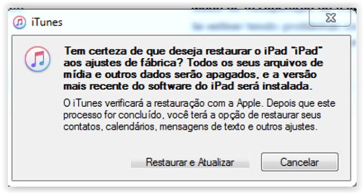 downgrade do iOS