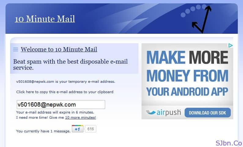 enviar email anonimamente