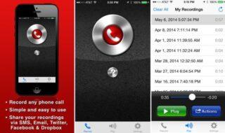 gravar ligações no iOS