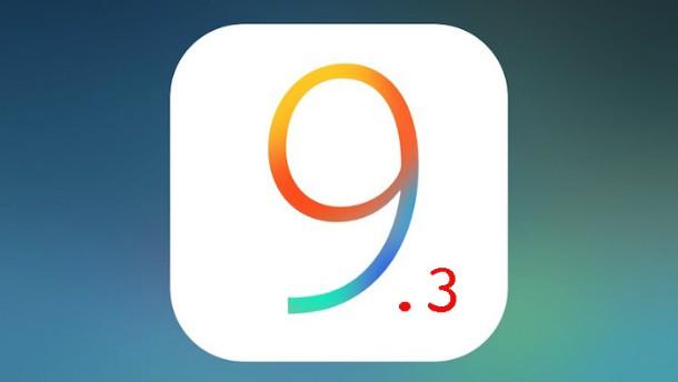 Relançamento do iOS 9.3