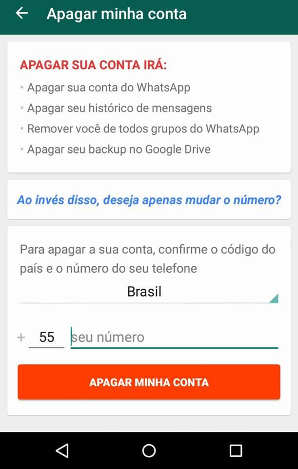 problemas do Whatsapp