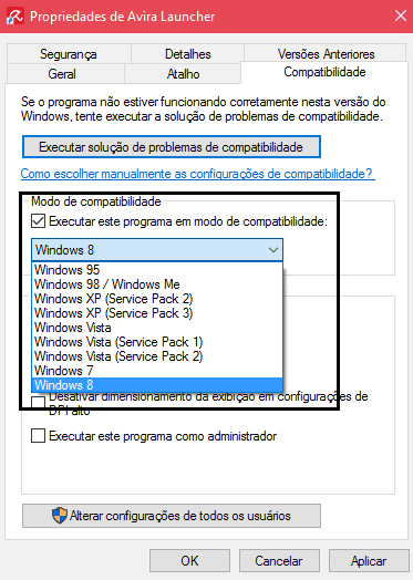 programas antigos no Windows 10