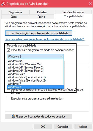 programas antigos no Windows 10