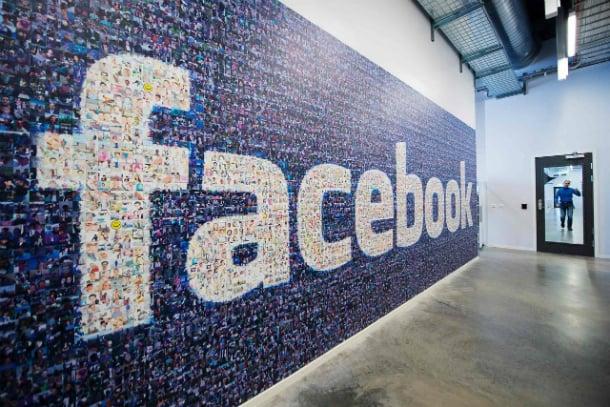 App de camera no Facebook