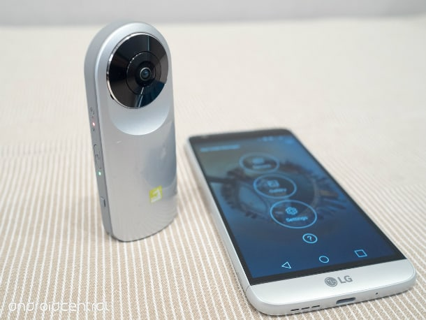 Câmera 360° para o LG G5