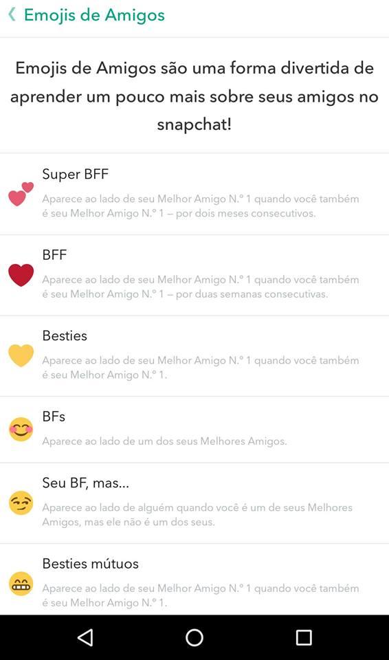 Snapchat dicas