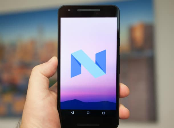 Update do Android N