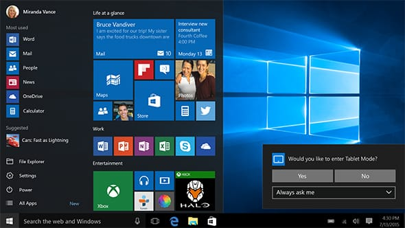 Update do Windows 10