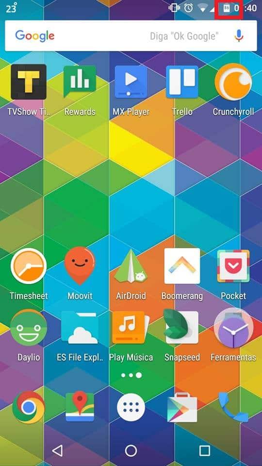 bateria no Android Marshmallowbateria no Android Marshmallow