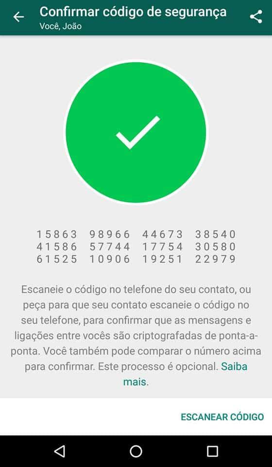 criptografia do whatsapp