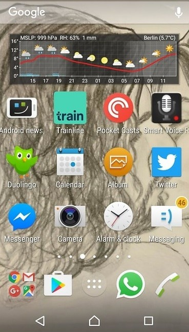 pesquisa no Android