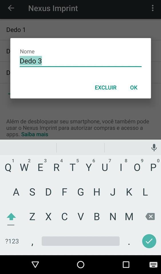 senha Android