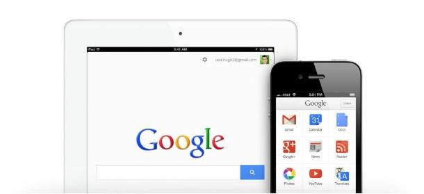Aplicativo do Google no iOS