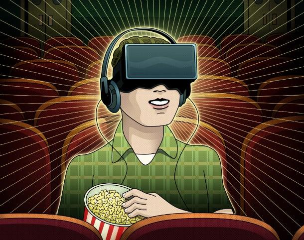 Realidade virtual em cinemas