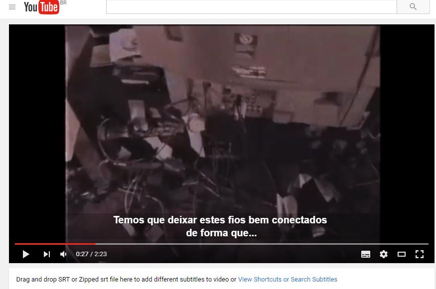 adicionar legendas no Youtube