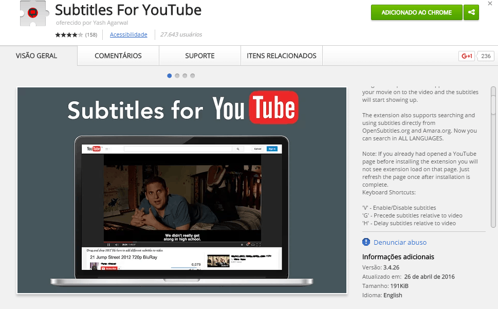 subtitles for youtube