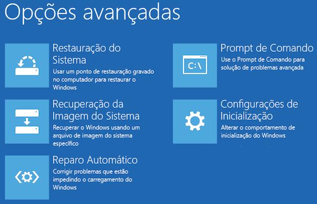 windows modo de segurança