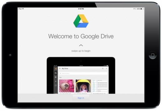 google drive no ipad