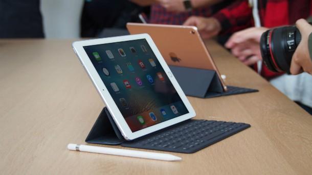 Atualização do iPad Pro