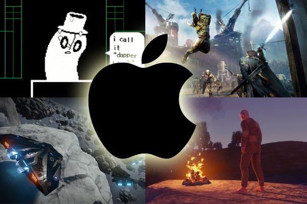 diversos jogos para Mac
