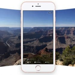 Fotos panorâmicas são convertidas para 360° no Facebook para iOS