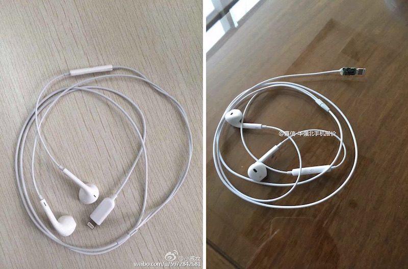 Fone de ouvido do iPhone 7