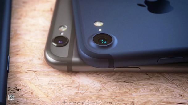 Fone de ouvido no iPhone 7