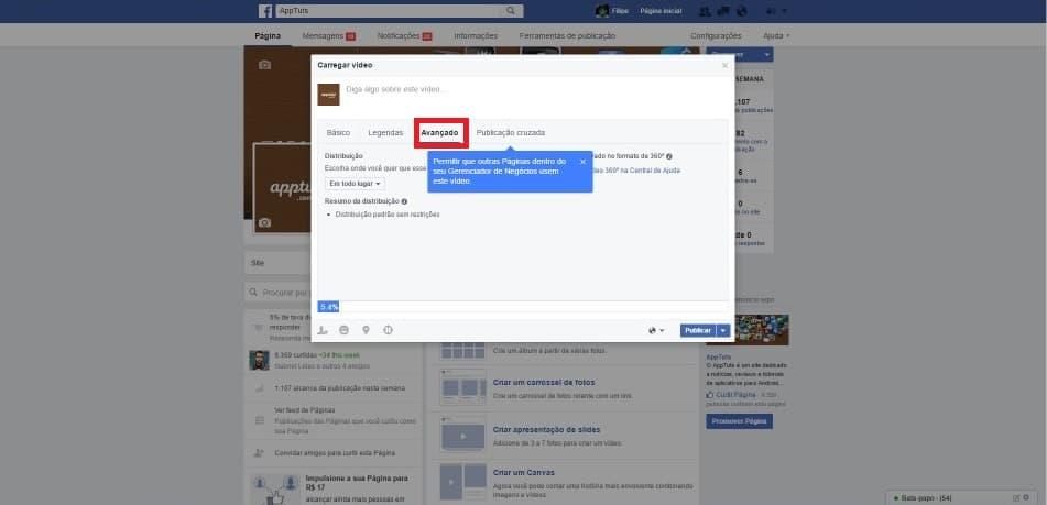 Fotos e Videos 360 no Facebook