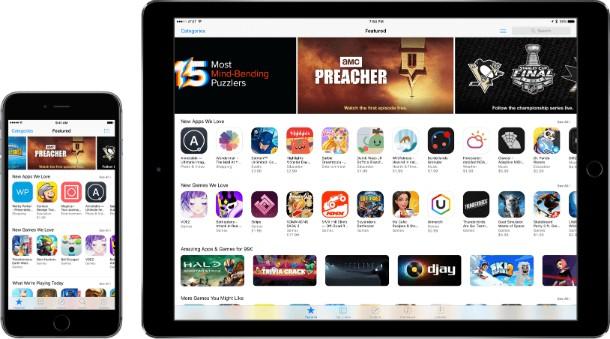 Mudanças na App Store