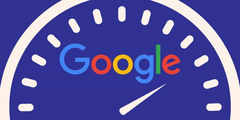 Teste de conexão no Google