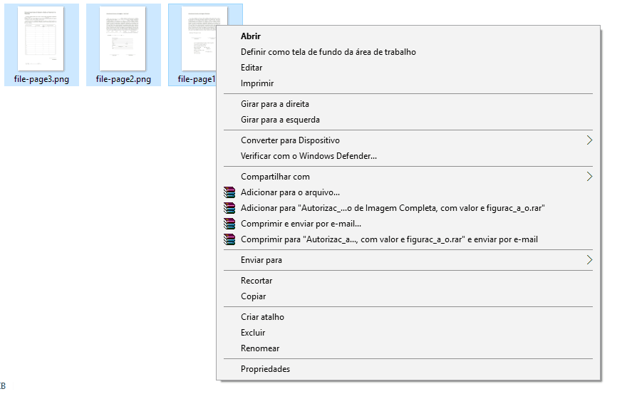 criar pdfs