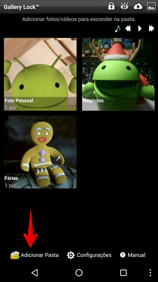 fotos android